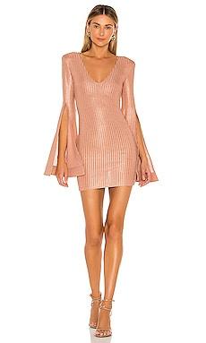 x REVOLVE Moseley Mini Dress Michael Costello $198 NEW ARRIVAL