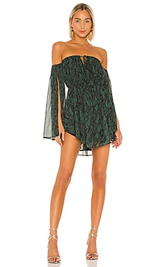x REVOLVE Geneve Mini Dress Michael Costello $218 BEST SELLER