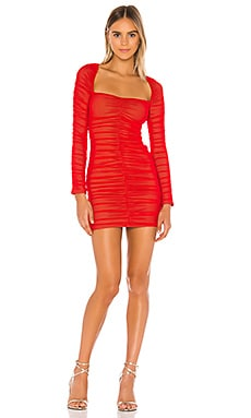 x REVOLVE Franky Mini Dress Michael Costello $158 NEW ARRIVAL
