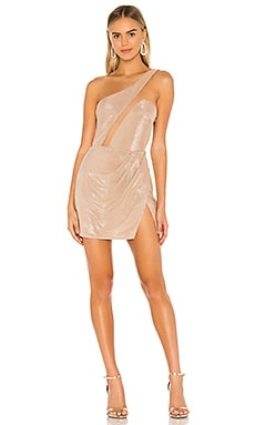 x REVOLVE Linden Mini Dress Michael Costello $168 NEW ARRIVAL