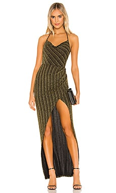 x REVOLVE Semira Gown Michael Costello $57