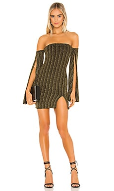 x REVOLVE Sandrine Mini Dress Michael Costello $111