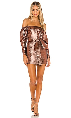 x REVOLVE Hadley Mini Dress Michael Costello $39 (FINAL SALE)