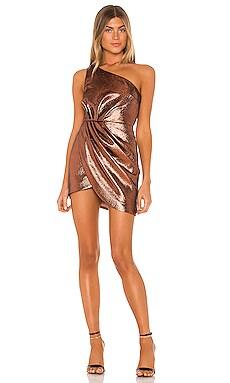 x REVOLVE Harrison Mini Dress Michael Costello $228