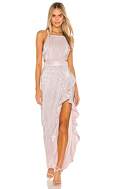 x REVOLVE Henrik Gown Michael Costello $248 NEW ARRIVAL