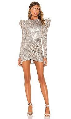 x REVOLVE Hugh Mini Dress Michael Costello $238
