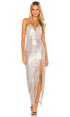 x REVOLVE Hersh Gown Michael Costello $207