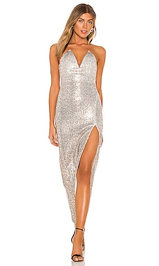 x REVOLVE Hersh Gown Michael Costello $258