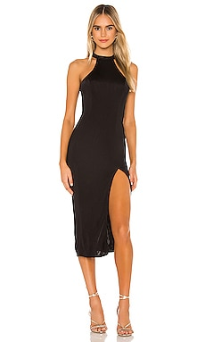 x REVOLVE Lucy Midi Dress Michael Costello $178 NEW ARRIVAL