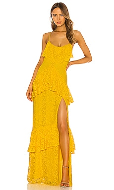 x REVOLVE Justine Gown Michael Costello $158