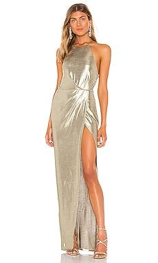 x REVOLVE Viktoria Gown Michael Costello $198 NEW ARRIVAL