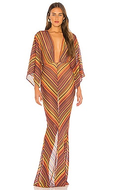 x REVOLVE Serinda Maxi Dress Michael Costello $258
