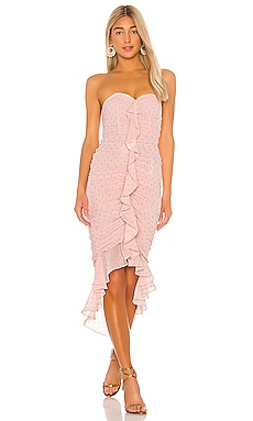 x REVOLVE Vega Midi Dress Michael Costello $133