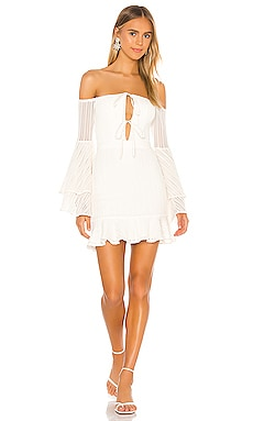 x REVOLVE Orchid Mini Dress Michael Costello $248