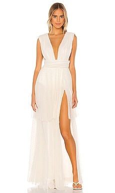 x REVOLVE Veronica Maxi Dress Michael Costello $328