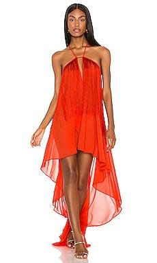 Платье generosity - Michael Costello Макси фото