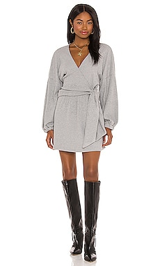 x REVOLVE Tie Front Mini Dress Michael Costello $139