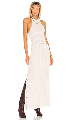 x REVOLVE Calico Maxi Dress Michael Costello $238