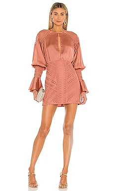 x REVOLVE Shandy Mini Dress Michael Costello $308 NEW