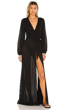 x REVOLVE Layla Wrap Dress Michael Costello $198