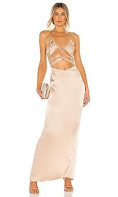x REVOLVE Josie Gown Michael Costello $198 NEW