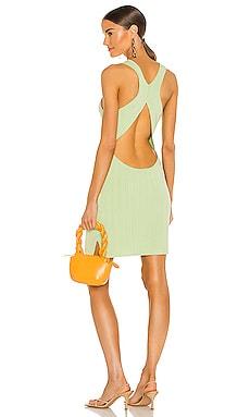 x REVOLVE Alyssa Mini Dress Michael Costello $178 NEW