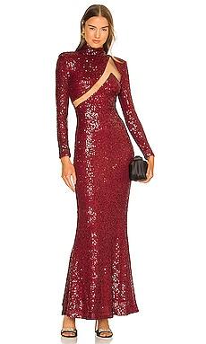 x REVOLVE Houston Gown Michael Costello $298 NEW