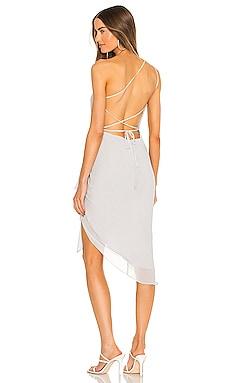 x REVOLE Alice Midi Dress Michael Costello $160