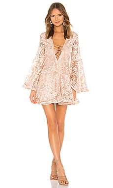 x REVOLVE Daybreak Mini Dress Michael Costello $238
