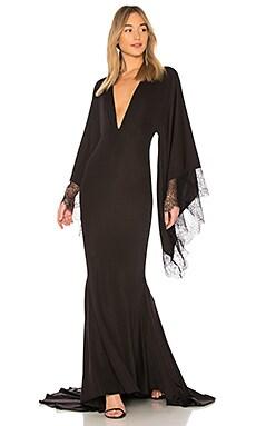 Вечернее платье с длинным рукавом stephen - Michael Costello