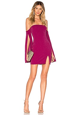 ed764645eb x REVOLVE Sandrine Mini Dress Michael Costello  148 ...