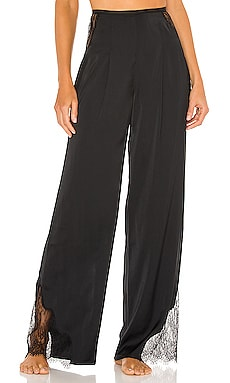 x REVOLVE Lace Trim Wide Leg Pant Michael Costello $198