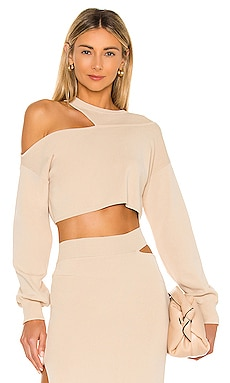 x REVOLVE Asym Cut Out Dolman Sweater Michael Costello $138 BEST SELLER