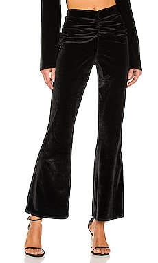 x REVOLVE Ruched Flared Pant Michael Costello $68 (FINAL SALE)