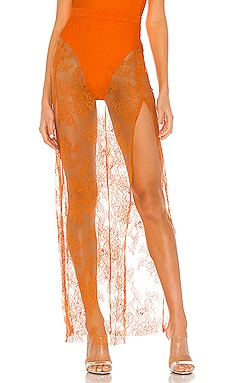 x REVOLVE Ophelia Maxi Skirt Michael Costello $41 (FINAL SALE)