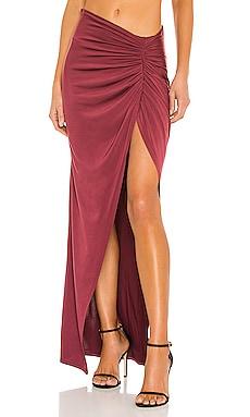 x REVOLVE Leah Maxi Skirt Michael Costello $145