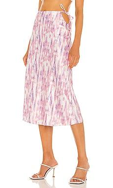 x REVOLVE Cleo Midi Skirt Michael Costello $168