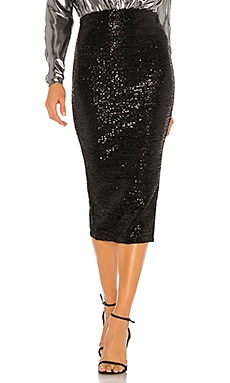 x REVOLVE Toni Midi Skirt Michael Costello $208