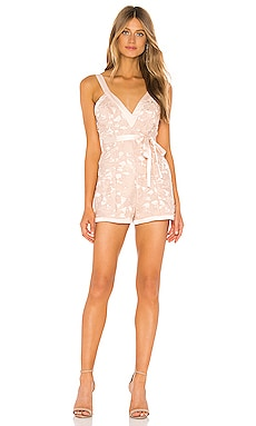 x REVOLVE Tari Romper Michael Costello $78 (FINAL SALE)