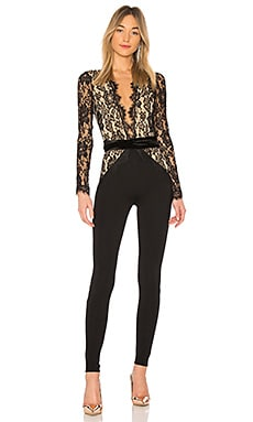 COMBINAISON SKINNY MANCHES LONGUES JULIAN Michael Costello $129