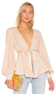 X REVOLVE Stella Blouse Michael Costello $149