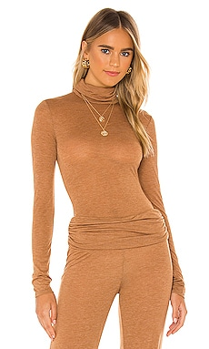 x REVOLVE Sheer Turtleneck Top Michael Costello $108