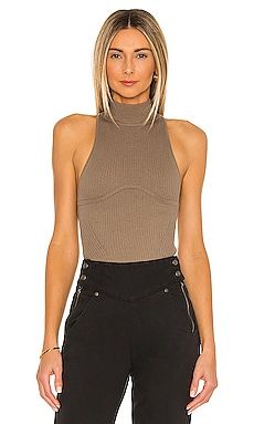 x REVOLVE Annalie Knit Bodysuit Michael Costello $168
