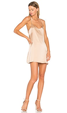 Bogota Dress in Champagne
