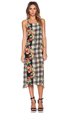 MERRITT CHARLES Emmy Dress in Plaid & Floral
