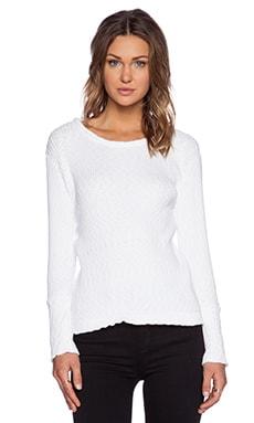 MERRITT CHARLES Ashton Sweater in White
