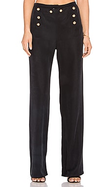 MERRITT CHARLES Hubert Pant in Black
