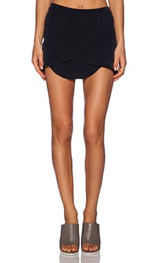 MERRITT CHARLES Sydney Skirt in Black