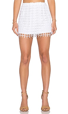 MERRITT CHARLES Ada Skirt in White