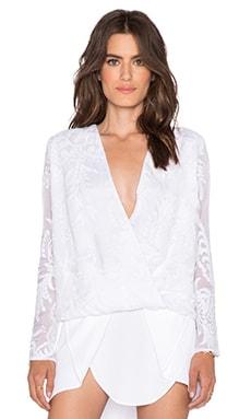MERRITT CHARLES Delilah Blouse in White